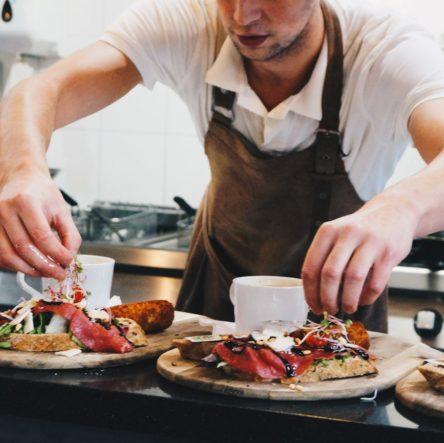 Stadscafe double a dubbel a westerhaven restaurant lunch diner high tea high wine primark groningen